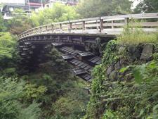 日本三奇橋の猿橋を訪ねる格安日帰り旅行の画像